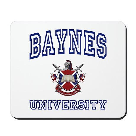 BAYNES University Mousepad