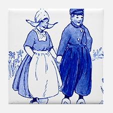 Dutch Kids Tile Coaster