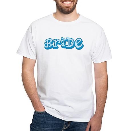 Graffiti Bride White T-Shirt