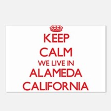 Keep calm we live in Alam Postcards (Package of 8)
