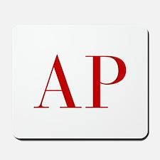AP-bod red2 Mousepad