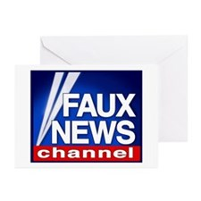 FAUX NEWS - Greeting Cards (Pk of 10)