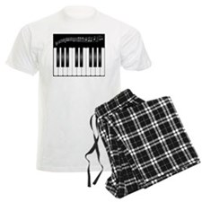 piano keys Pajamas