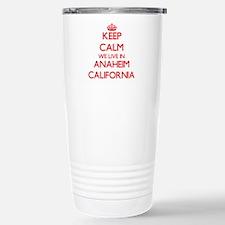 Keep calm we live in An Travel Mug