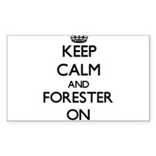 Keep Calm and Forester ON Decal