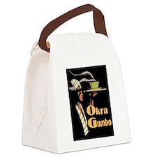 Okra Gumbo Canvas Lunch Bag