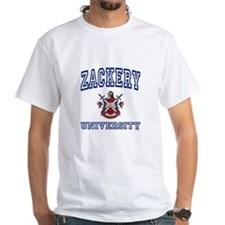 ZACKERY University Shirt