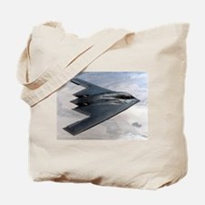 B2 Stealth Bomber In Flight Tote Bag