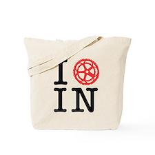 I Bike IN Tote Bag