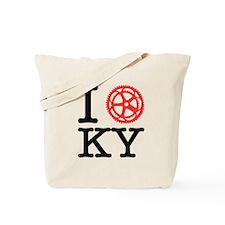 I Bike KY Tote Bag