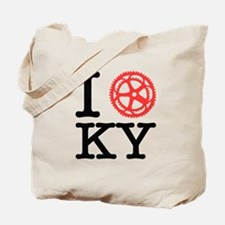 I Bike KY Tote Bag