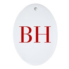 BH-bod red2 Ornament (Oval)