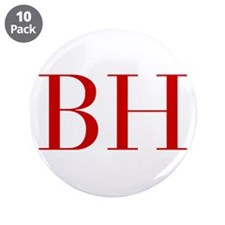 """BH-bod red2 3.5"""" Button (10 pack)"""