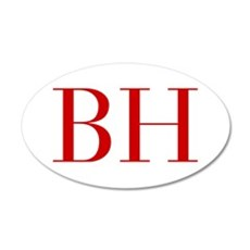 BH-bod red2 Wall Decal