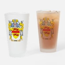 Cok Coat of Arms - Family Crest Drinking Glass