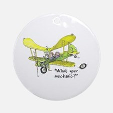 Who's Your Mechanic? Ornament (Round)