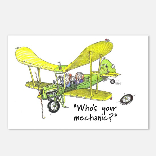 Who's Your Mechanic? Postcards (Package of 8)