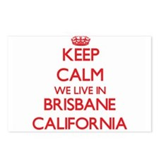 Keep calm we live in Bris Postcards (Package of 8)
