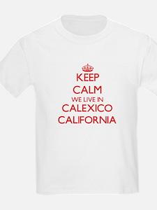 Keep calm we live in Calexico California T-Shirt