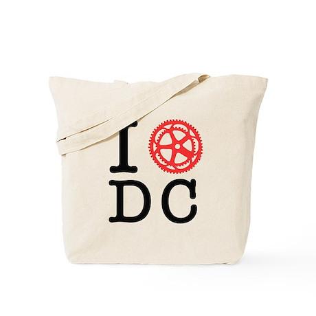 I Bike DC Tote Bag