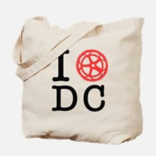 I Bike DC Tote Bag