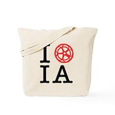I Bike IA Tote Bag