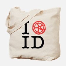 I Bike ID Tote Bag