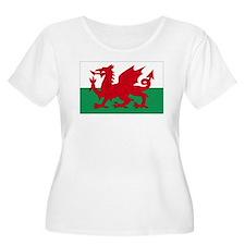 Wales flag de T-Shirt