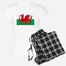Wales flag decorative Pajamas