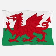 Wales flag decorative Pillow Case