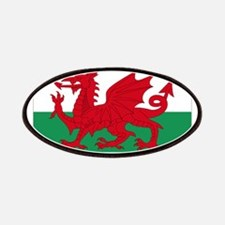 Wales flag decorative Patches