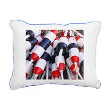 Buoys Rectangular Canvas Pillow