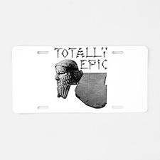 Cute Clay Aluminum License Plate