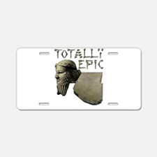 Funny Epic Aluminum License Plate
