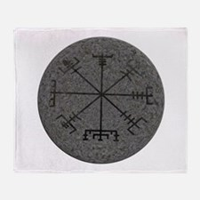 viking compass Throw Blanket