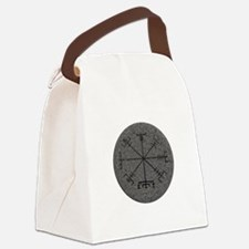 viking compass Canvas Lunch Bag