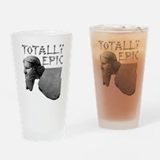 Cool Tablet Drinking Glass