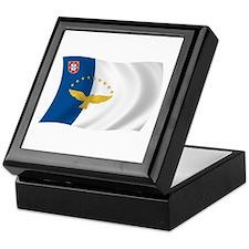 Azores Flag Keepsake Box