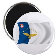 """Azores Flag 2.25"""" Magnet (100 pack)"""
