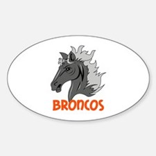 BRONCOS Decal