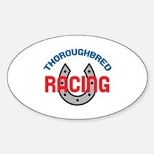 THOROUGHBRED RACING Decal