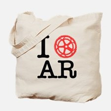 I Bike AR Tote Bag