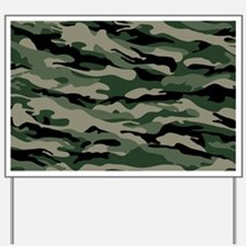 Army Camouflage Yard Sign