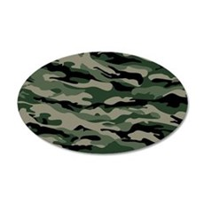 Army Camouflage Wall Decal