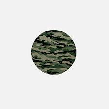 Army Camouflage Mini Button