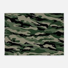 Army Camouflage 5'x7'Area Rug