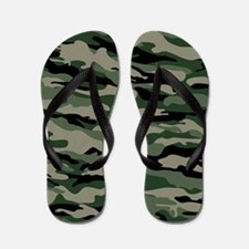 Army Camouflage Flip Flops