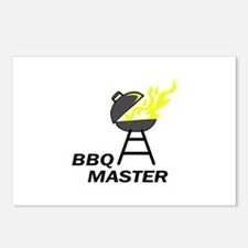 BBQ MASTER Postcards (Package of 8)