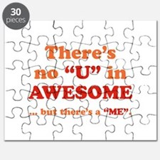 There's No U In AWESOME Puzzle
