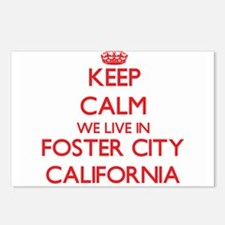 Keep calm we live in Fost Postcards (Package of 8)